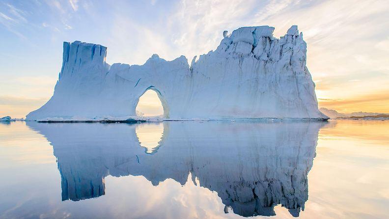 Jäävuori Grönlanti