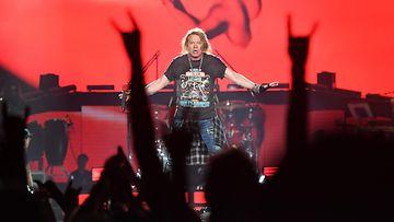 Guns N' Roses Brisbanessa Australiassa 7.2.2017 1 Axl Rose
