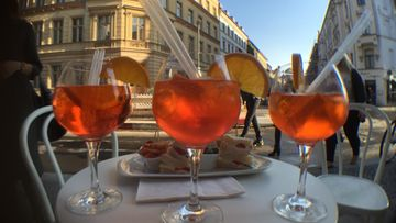Aperol Spritz cocktail drinkki