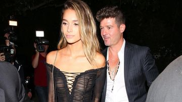 Robin Thicke ja April Love Geary 23.6.2017 1
