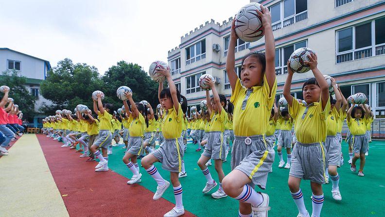 kiina jalkapallo