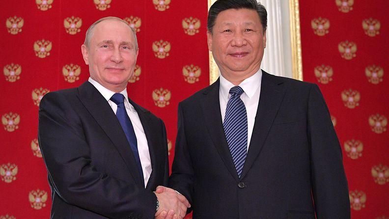 Xi Jinping ja Vladimir Putin