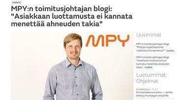MPY tavoitti päättäjä-kohderyhmän sisältömarkkinoinnilla