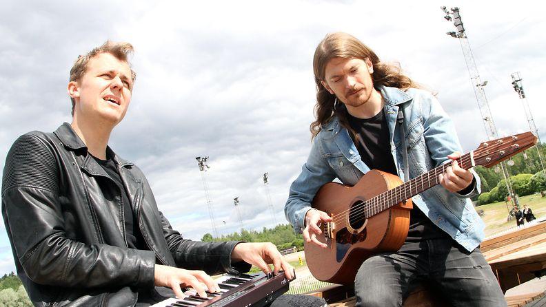 Pimeys Vermossa, Pekka Nisu ja Joel Mäkinen 5.7.2017 8