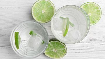 Lime drinkki cocktail