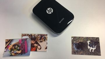 HP Sprocket testi