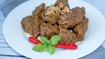Rendang indonesialainen ruoka