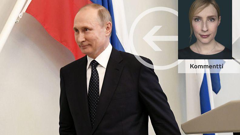 Vladimir Putin, Mirja Sipinen
