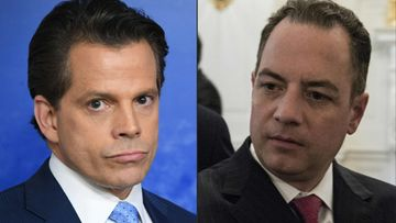 Steve Bannon Anthony Scaramucci Reince Priebus