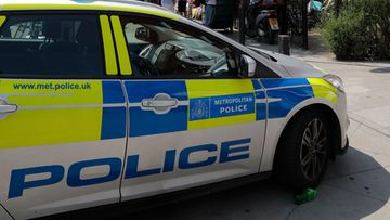 police car british britain london poliisiauto