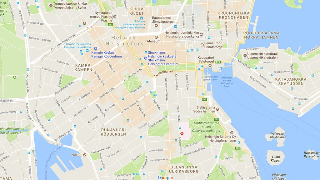 Googlen Paras Apu Matkailijoille On Oranssi Lantti Kartassa