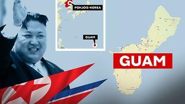 Guam, kartta