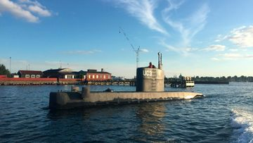 Kim wall, sukellusvene