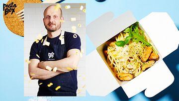pasta box Hans Välimäki