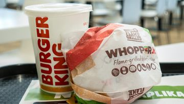 burger king whopper hampurilainen