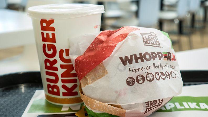 burger king whopper hampurilainen