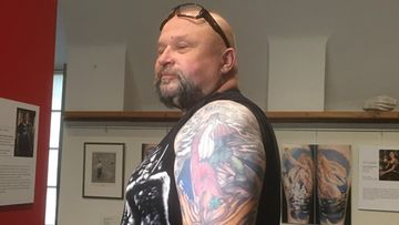 Tatuoinnit, Gallen-Kallela, Väinämöinen