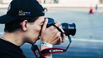 canon kamera valokuvaaja