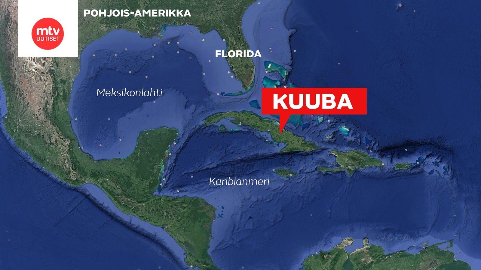 Meteoriitin Uskotaan Syoksyneen Maahan Kuubassa Alueella Kuultu
