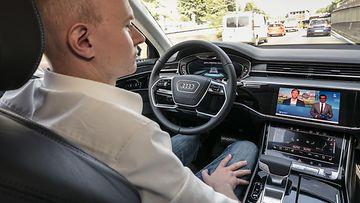 audi autonominen auto robottiauto
