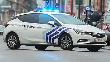 Belgia poliisi kuvituskuva