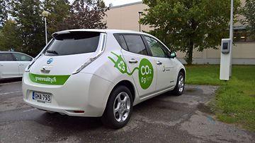 lappeenranta nissan leaf sähköauto