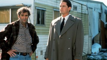 Harry Dean Stanton, Kyle MacLachlan 1992 Fire Walk With Me