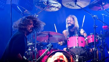 Dave Grohl Taylor Hawkins