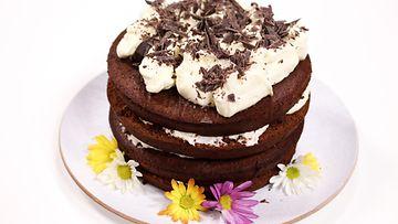 Red Velvet cake makujen aamu