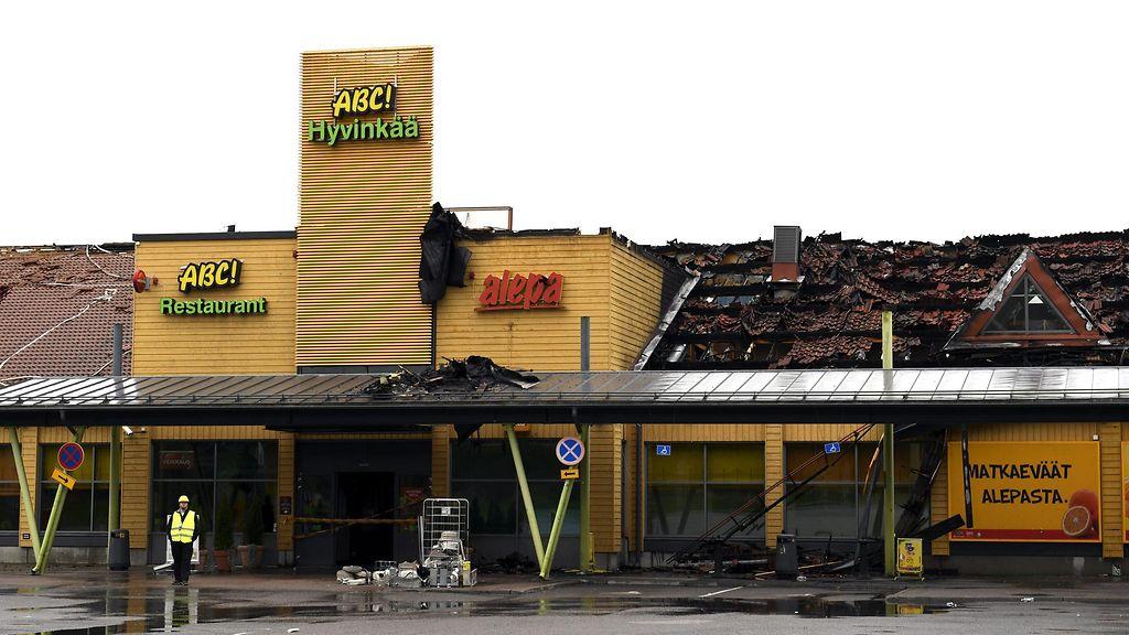 Abc Hyvinkää Tulipalo