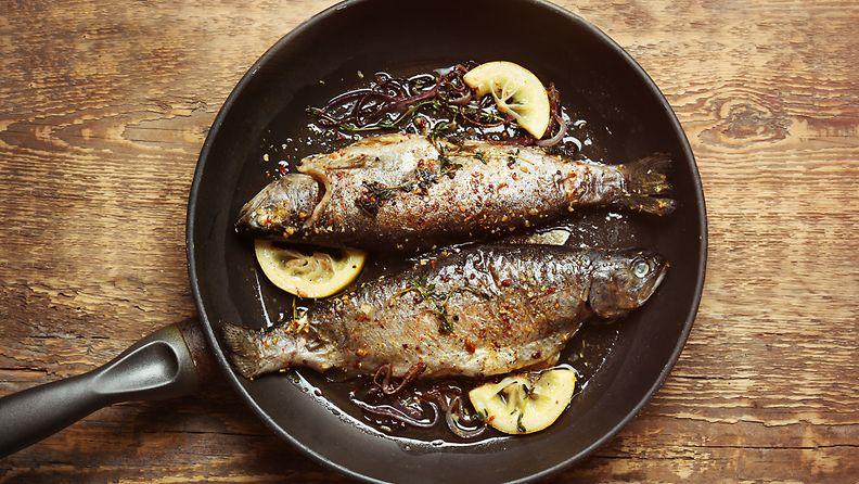 paistettu kala