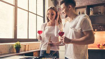 kokkaaminen viini