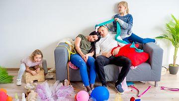 vanhemmat väsymys lapset