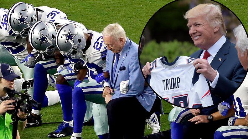 NFL, Trump Donald 2017