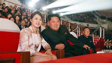 Kim Jong un vaimo