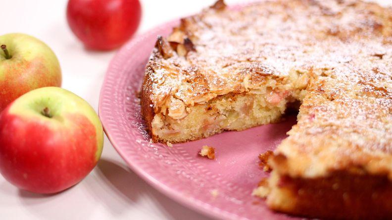 Omena-toscapiirakka kuva