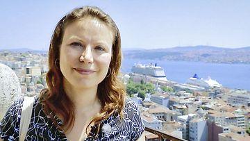 Ayla Albayrak suomalaistoimittaja Turkissa
