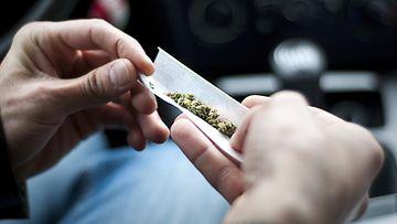 auto huumeita kannabis marijuana