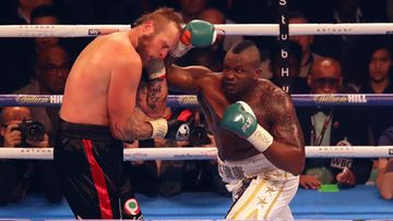 Robert Helenius ja Dillian Whyte