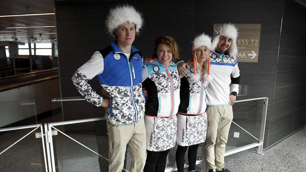Mitkä hatut! Suomen olympiajoukkueen edustusasu julki - Maastohiihto - Hiihtolajit - Sport - MTV.fi