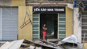 Taifuuni Vietnam lokakuu 2017 2