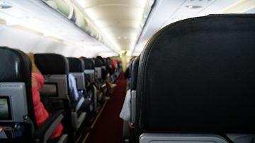 lentokone takaosa