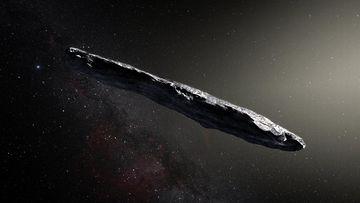 Tähtienvälinen Oumuamua -asteroidi