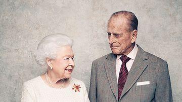 kuningatar Elisabet ja prinssi Philip 70-vuotishääpäivä