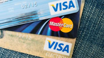 visa luottokortti maksukortti