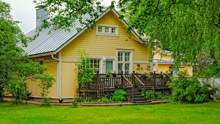 Suomi puutalo Tammisaari Shutterstock
