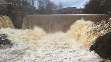 tulva, talvitulva, pellot, ravinteet, Vantaanjoki, Vanhankaupungin koski