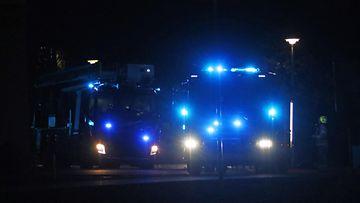 Paloautoja kuvituskuvaa