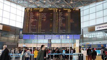Lentokenttä Helsinki-Vantaa