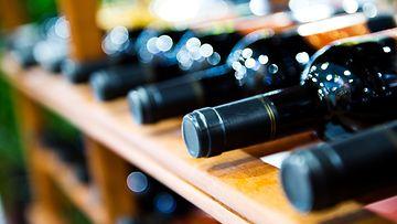 viinipullot säilytys